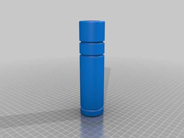 Paintball Silahları İçin Sahte Susturucu Plastik Aparat