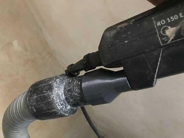 Festool RO 150 E Vakum Adaptörü  Organik Plastikten Aparat