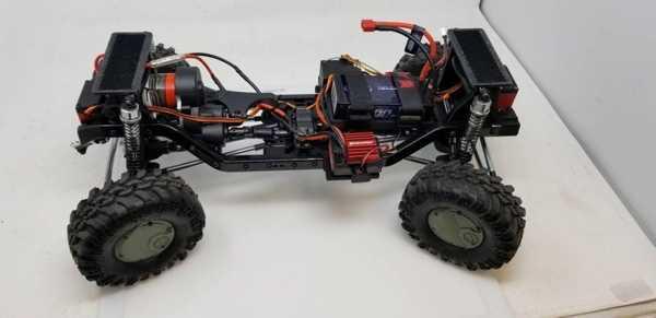 Redcat Yarışı Gen8 4 Tekerlekli Direksiyon Modu Plastik Aparat