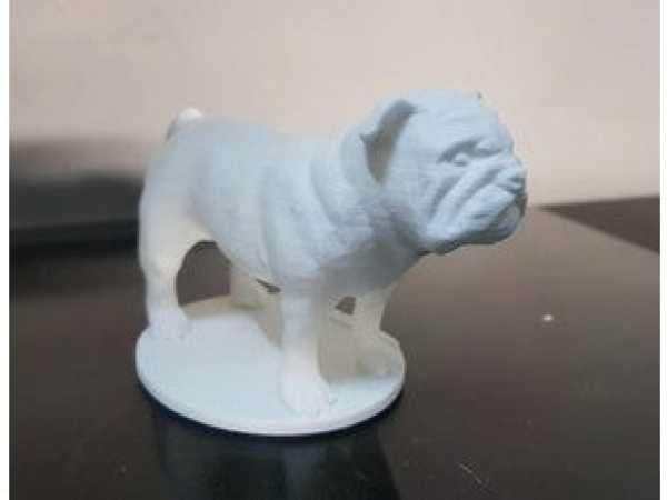 Toptan Bulldog 3D verileri  Biblo Dekoratif Hediyelik Süs Eşyası Maket