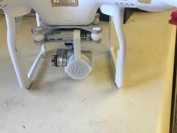 PolarPro filtreleri takılı Phantom Pro 3 için Gimbal Kilidi