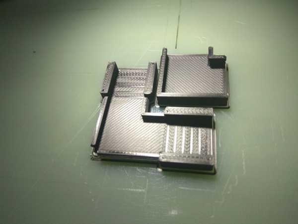 Toptan Dr Boo'nun WS2801 şeridi için LED köşe tutucusu / klipsi (90 °)