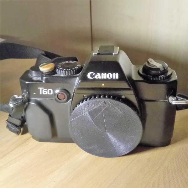 Canon Fd Vücut Kapağı Plastik Aparat