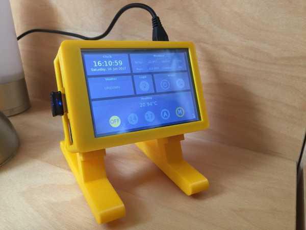 Raspberry Pi İçin Ekran Standı Tutucu Holder Koruyucu Aparatı