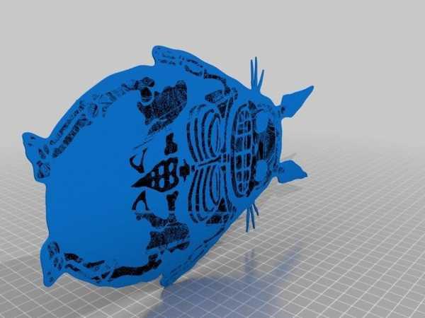 Totoro Iskeleti Biblo Dekoratif Hediyelik Süs Eşyası Maket