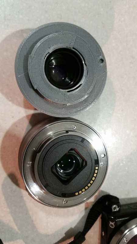 Industar-22 M39 Lens - Sony e-mount adaptörü Dekoratif Aparat