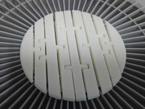 Mafsallı Lavabo Filtresi Plastik Aparat