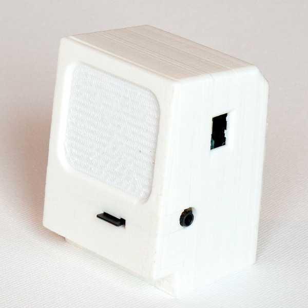 Mini Macintosh Wemos Mp3 Çalar Plastik Aparat
