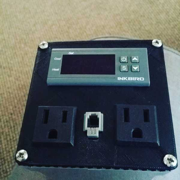 Dijital sıcaklık kontrol kutusu ön plakası Tutucu Aparat