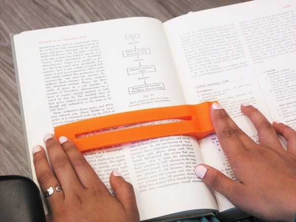 Disleksi Kitap Okuma Çubuğu Ayraç Tutucu Askısı Standı Aparatı