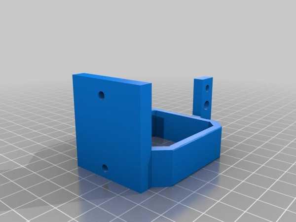 Bltouch Kartuşlu Mk8 Ekstruder Tutucu Plastik Aparat