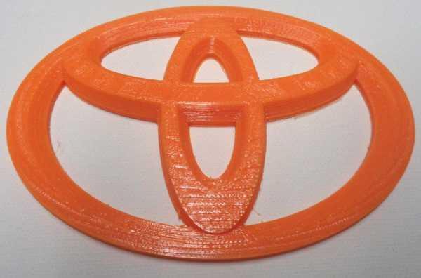 Toyota Logo Rozeti Dekoratif Hediyelik