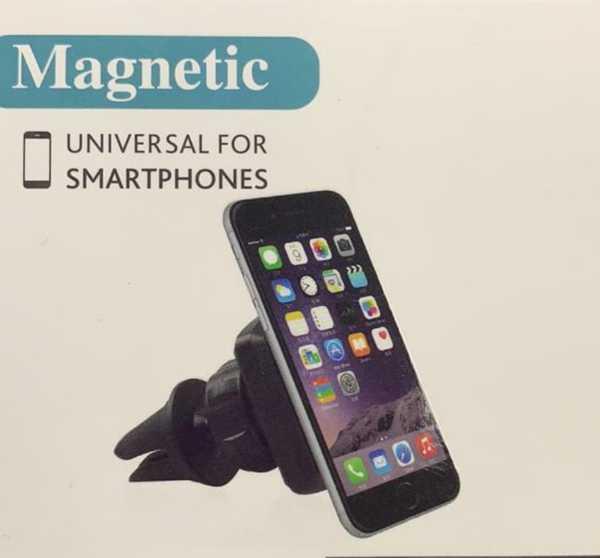 360 Derece Dönebilen Oto Araç İçi Telefon Mıknatıslı  Tutucu