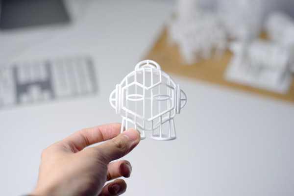 3D Hub Lar Marvin-Tel Kafes Plastik Aparat