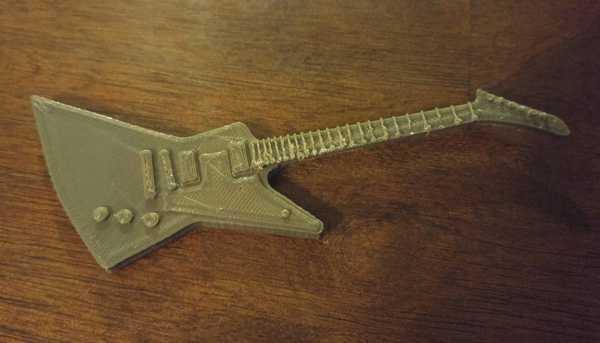 Gibson Explorer Elektro Gitar  Organik Plastikten Aparat