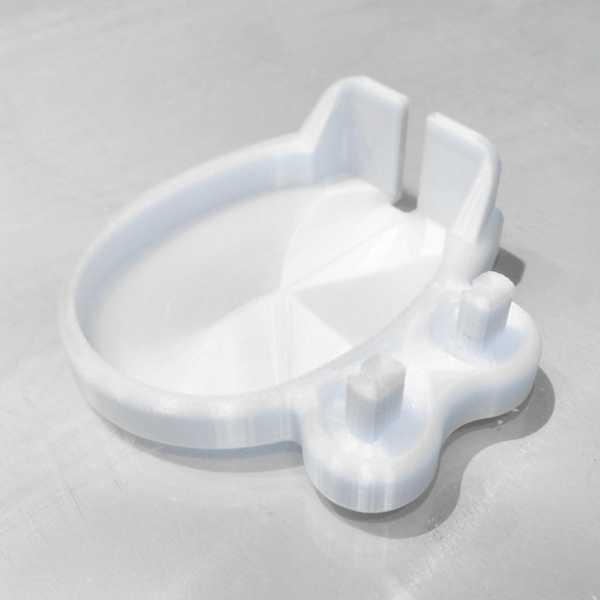 Oral-B diş fırçası tutacağı / standı (tek parça)  Organik Plastik