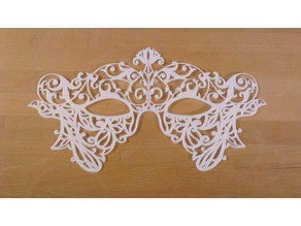 Kadın Maskesi  Organik Plastikten Aksesuar Dekoratif Süs Eşyası