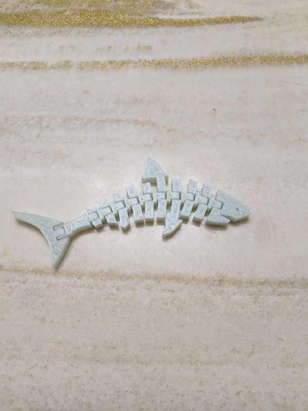 Mafsallı Köpekbalığı Biblo Dekoratif Hediyelik Süs Eşyası Maket