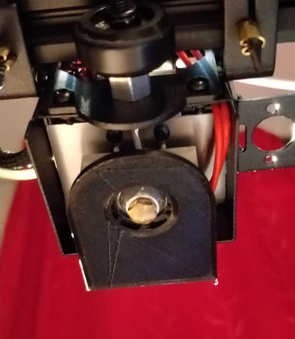 Geeetech A10M / A10 Fanduck 360 ° Organik Plastikten Aparat