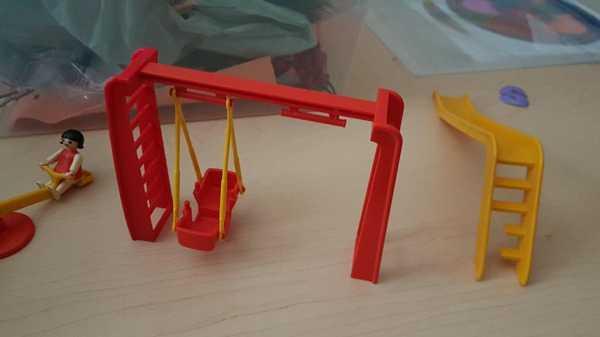 Toptan Playmobil Salıncak Seti Merdiveni Plastik Aparat