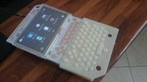 Pocketpip Ek Klavye + Stylus Kalem Plastik Aparat