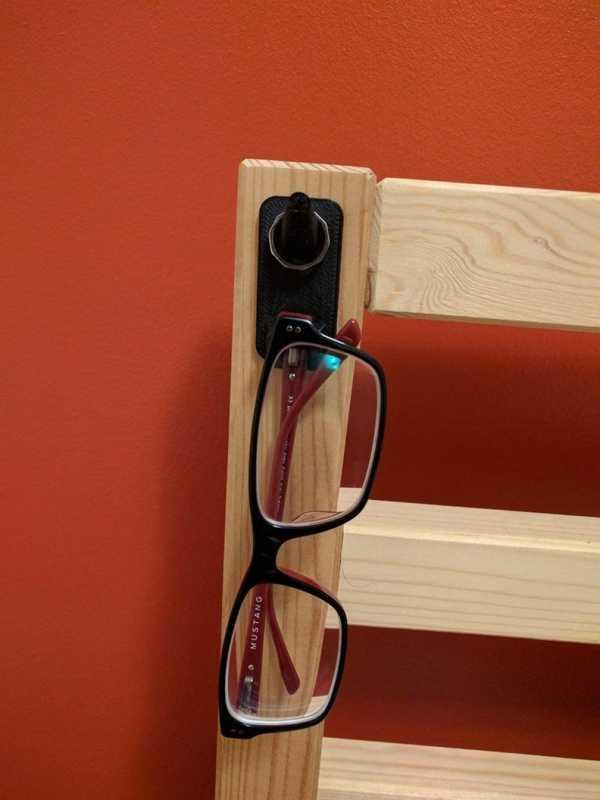 Yüzük Ve Gözlük Kancası Gözlük Tutucu Masa Kenarı Yatak Başlığı