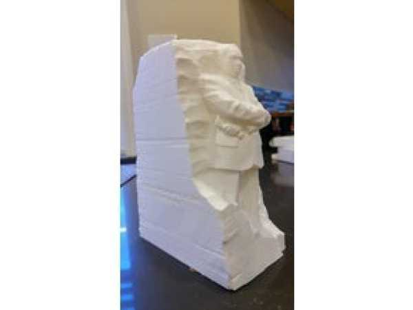 Martin Luther King Anıtı Biblo Dekoratif Hediyelik Süs Eşyası