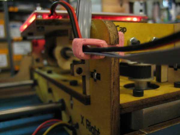 HBP için Kablo Kılavuzu  Organik Plastikten Aksesuar Aparat