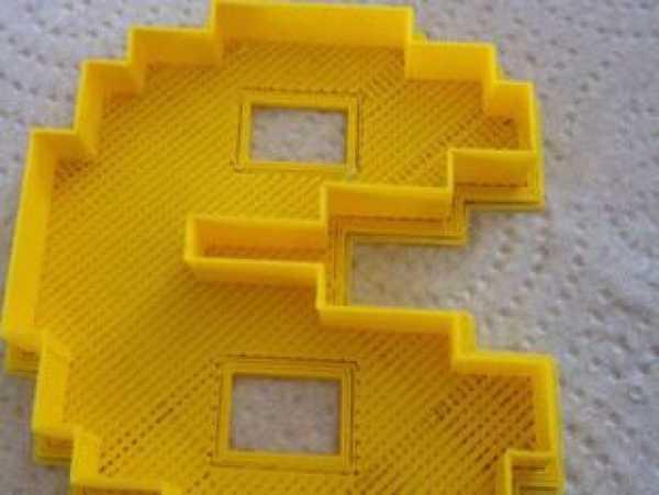 8 Bit Pacman Kurabiye Kesici Kalıbı  Şeker Hamuru Oyun Hamuru Kalıbı