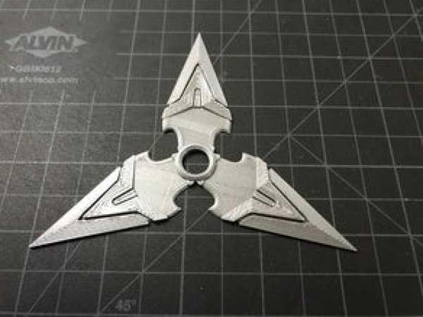 Overwatch Karakteri Genji Shuriken Yıldız Bıçakları Oyuncak