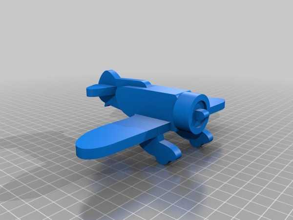 Granville Gee Bee Z40 basitleştirilmiş cnc / lazer  Biblo