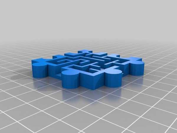 Toptan 3D Modüler Yapışkan Bulmaca Labirentleri Organik Plastikten