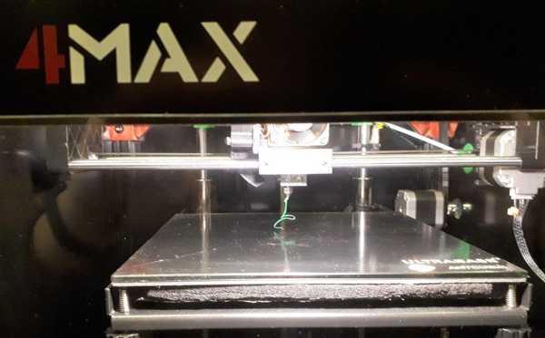 Anycubic 4Max Beleuchtung / Aydınlatma Plastik Aparat