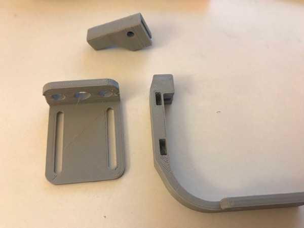 Ayarlanabilir Geeetech 3DTouch / BLTouch Sensör montajı