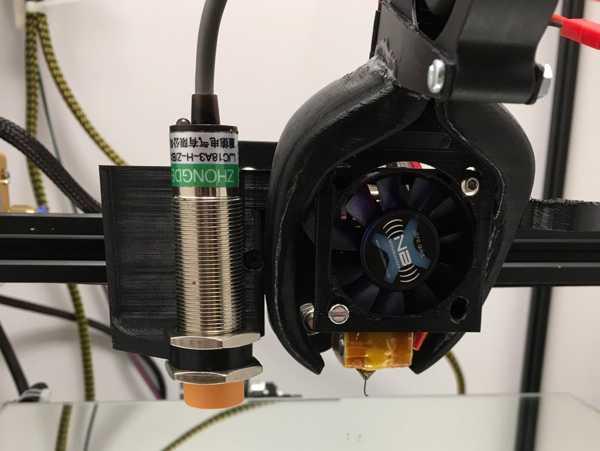 CR-10 Multi Mount - Tesviye Sensörü Plakası  Organik Plastikten