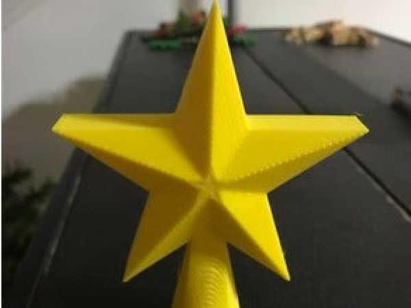 Masaüstü Noel Ağacı Yıldız Topper Süs Eşyası Dekoratif Yıldız