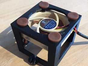 Anycubic i3 Mega Extruder soğutma  Organik Plastikten Aksesuar