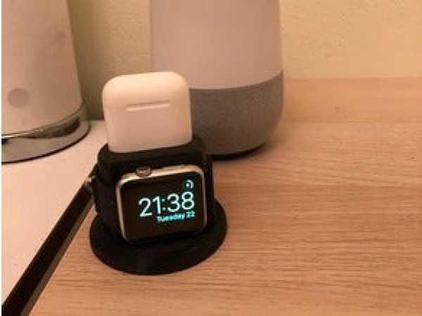 Apple Watch ve AirPods yuvası / şarj cihazı  Organizer  Tutucu