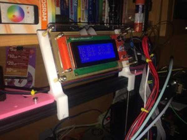 Tevo Tarantula ekran kıskaçları / LCD braketi Organik Plastik