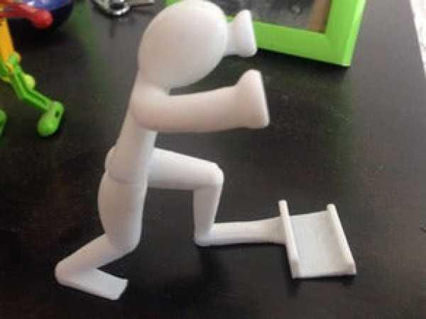 Cep telefonu için stand Masaüstü Şekilli Telefon Tablet Tutucu