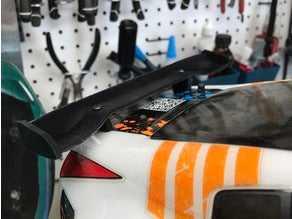 RC car spoiler  Organik Plastikten Dekoratif Aksesuar Aparat