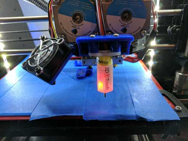 Geeetech i3 Pro C 3D Dokunmatik Sensör Braketi  Organik Plastik