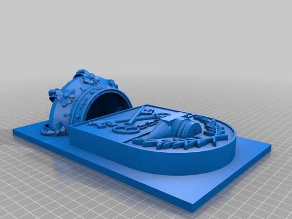 Salobre (Albacete) Escudo 3D Plastik Aparat