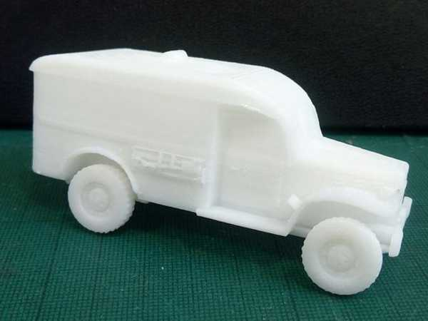 Toptan Wc54 Ambulans Dodge 1/56 Ölçekli Plastik Aparat