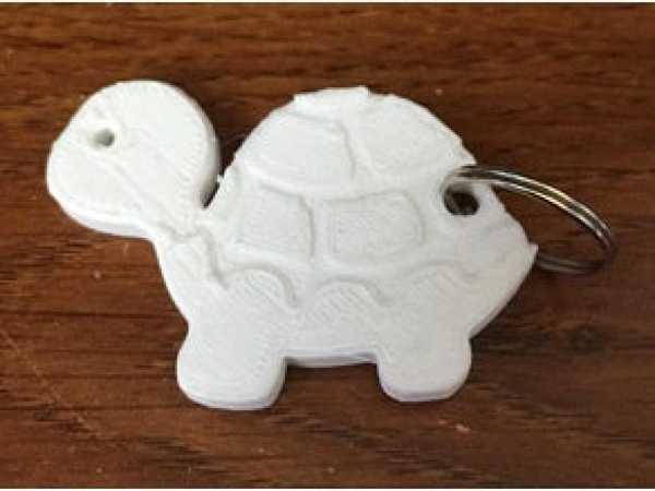 Kaplumbağa Anahtarlık Ucu Hediyelik Süs Eşyası Zindir Hariç
