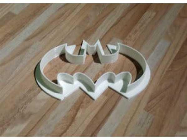 Batman Kurabiye Kesici Kesme Aparatı Hamur Kalıbı Bisküvi Kalıp
