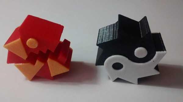 Toptan  Geometri Dash 3D Topları Plastik Aparat