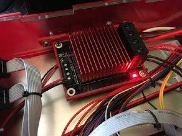 TEVO Black Widow - kutu için harici MOSFET (TriGorilla) tutucu