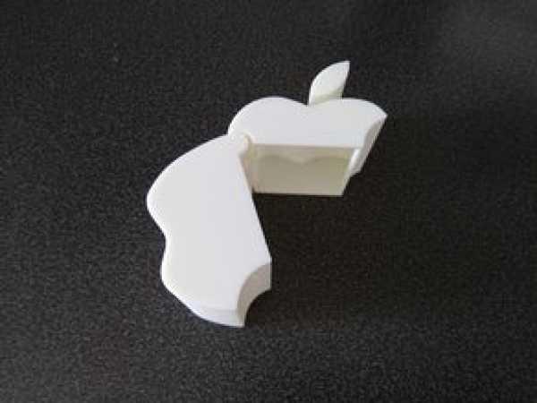 Apple Logolu Kapaklı Kutu  Aparat Hediyelik Aksesuar Tutucu