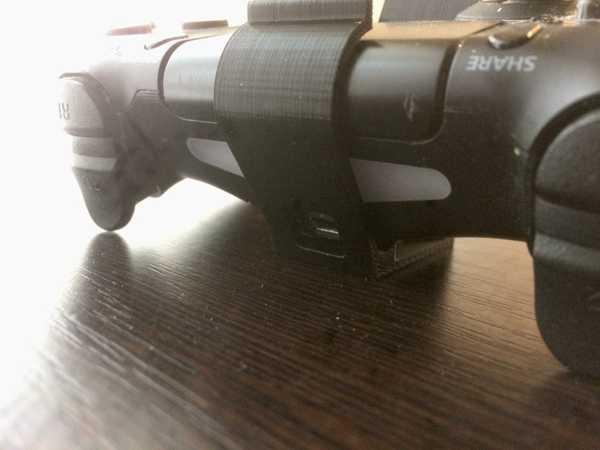 PS4 Denetleyici ile duvara montaj şarj giriş delikli aksesuar